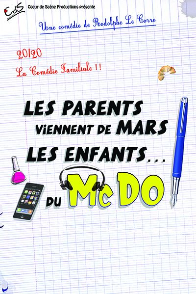 Les parents viennent de mars, les enfts du McDo !
